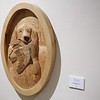 RELIEF WOOD CARVING BY CLARK ADAMS