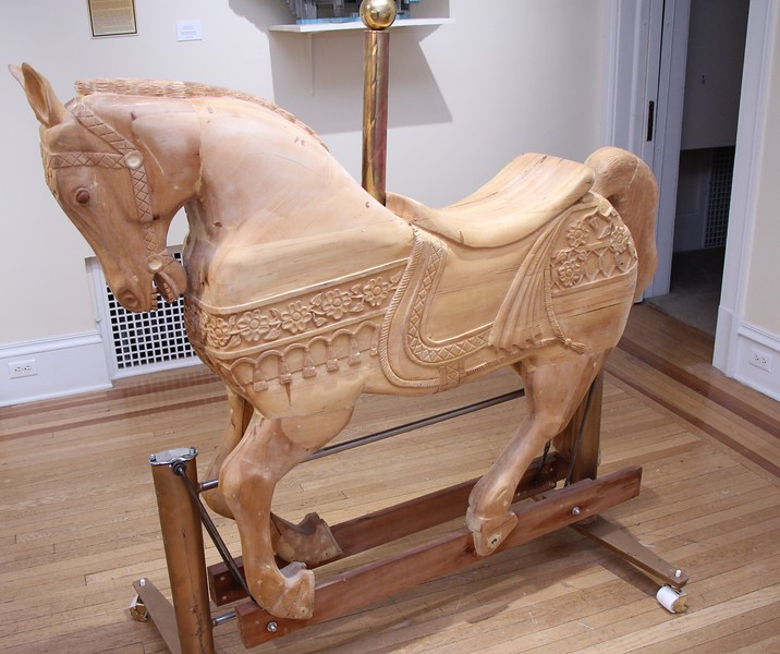 ANOTHER VIEW OF THE HORSE BY JOE ROMANYAK