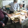 LEARNING RELIEF CARVING CLASS BY CLARK A.