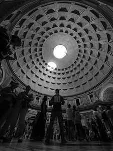 Pantheon from the Floor
