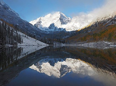 32 Maroon Bells, Early Morning