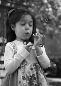 7 Blowing Bubbles