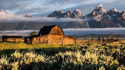 32  Mormon Row Barn