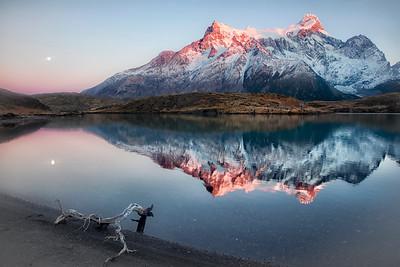 3  Alpenglow Reflection