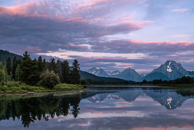 36  Oxbow Bend Evening