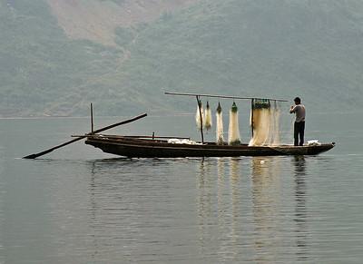 Preparing Fishing Nets