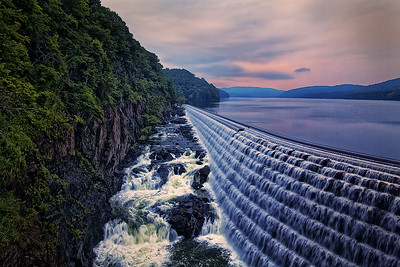 Croton Dam at Dawn by Gary Emord Judge's Selection  -  2017-2018