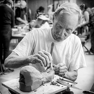 Working in Clay by Chuck Pike