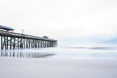 Amelia Island Pier by Colin Hocking