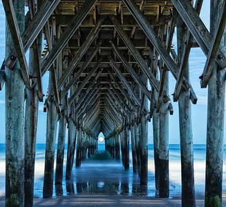 Surf City Pier by Linda Springer - Judge's Selection 2018-2019