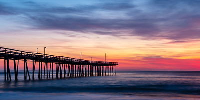 Sunrise at the Pier  by Clark  Cochran