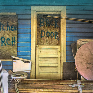Back Door - Joan Showers