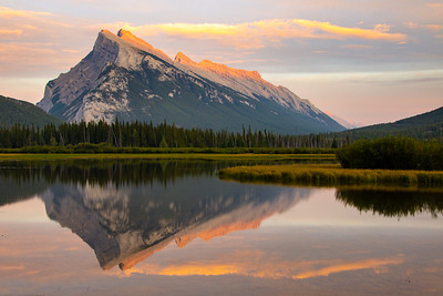 Mt Rundle Banff Sunset