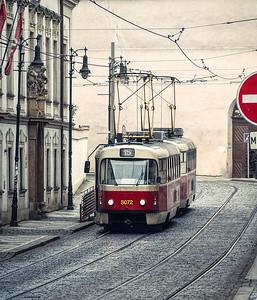 Prague Tram Number 15 - Lorraine Shannon