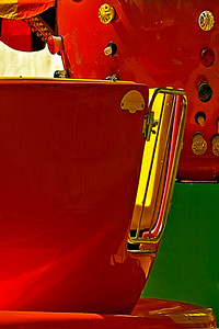Tea Cup Ride by Joe Colavita