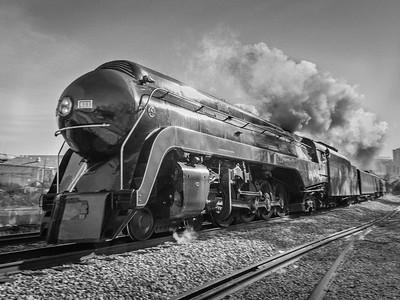 Locomotive 611 by Dave Warren