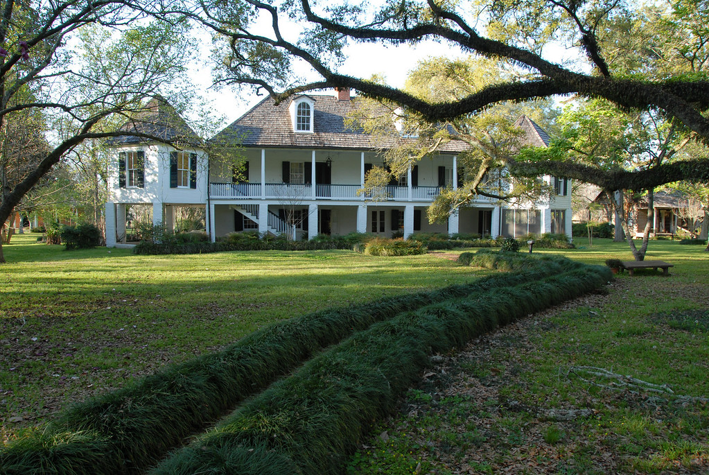 "There are four plantations about 90 miles south of Shreveport just south of Natchitoches open for tours including Magnolia Plantation, Oakland Plantation, <A HREF=""http://www.caneriverheritage.org/main_file.php/melrose.php/"" TARGET=""***"">Melrose Plantation</A> and the Kate Chopin Home in Cloutierville; all are in close proximity to one another.  <a href=""http://maps.google.com/maps?hl=en&ie=UTF8&dq=Melrose+Plantation+loc:+Melrose+Plantation,+3533+LA-119,+Uninc+Natchitoches+Parish,+LA&daddr=3524+Highway+119,+Melrose,+LA+71452&geocode=13593904465064735344,31.599272,-92.966330&f=d&ll=31.598605,-92.965472&spn=0.509983,0.368042&z=11"">Here's a map to Melrose</a>"
