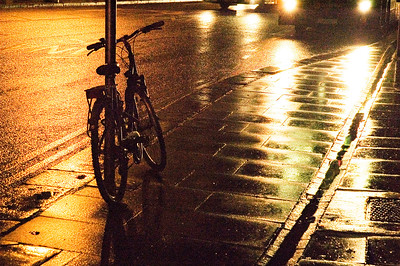 Photo 1 by Michael M - Bicycle in the rain