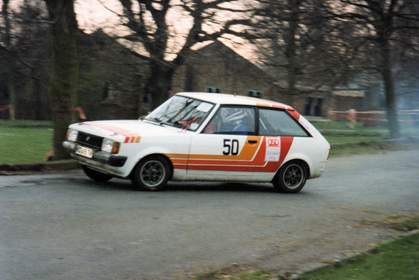Steven Clark & Bob Moorland<br /> Durham Dales Rally - Barford Camp