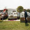 Spadeadam Motor Club Stand at the Hethersgill Vintage Rally