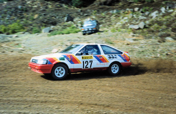 Colin Richardson & Richard Hortin<br /> Pirelli International Rally<br /> (1993)