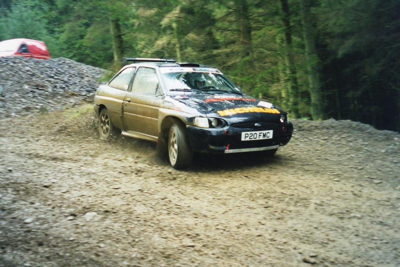 Stuart & Steve Egglestone<br /> Malcolm Wilson Rally