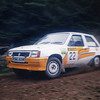 Angus Irving & Ian Foster<br /> Lion Stages Forest Rally