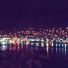 Acapulco Bay at night