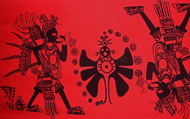 Club Med Pareo circa 1972 (notice Acapulco at lower left)
