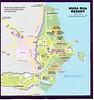 Map of club area at Nusa Dua