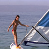 Windsurfing practice