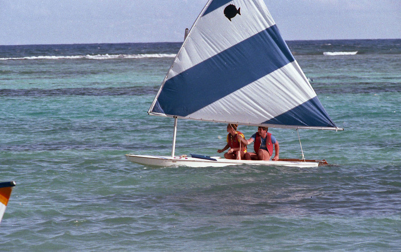 Sunfise sailing
