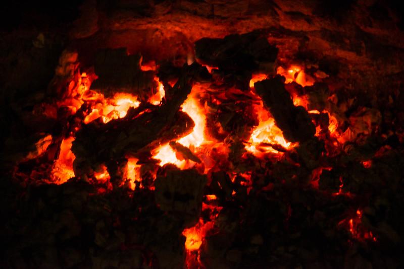 Glowing embers added to the warm comradery - Seasons Greetings to everyone!