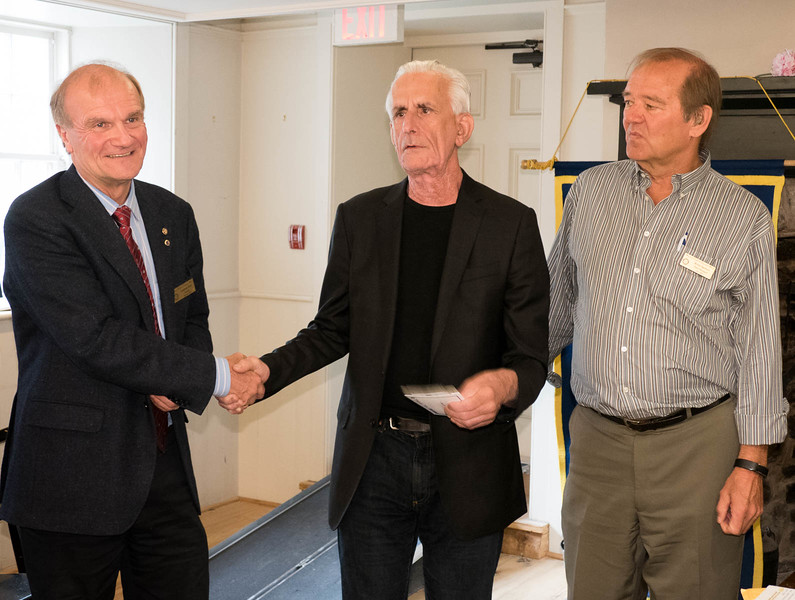 """At least 32 Rotary clubs now support PACT. Dave thanked John Hastings of our club in particular as a great supporter of PACT and its drive to establish connections with the Toronto school system. PACT's mandate is consistent with our club's vision to """"ignite potential in youth""""."""