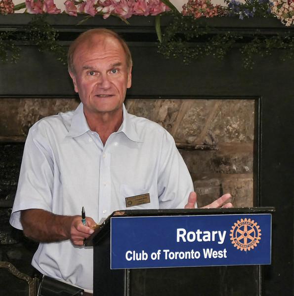 Club President Leighton Reid welcomed everyone to our weekly breakfast meeting