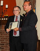 Bruce Gillies receives a Distinctive Service Citation.