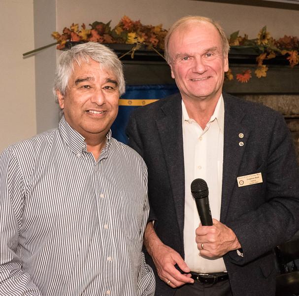 Richard with RTW President  Leighton R.
