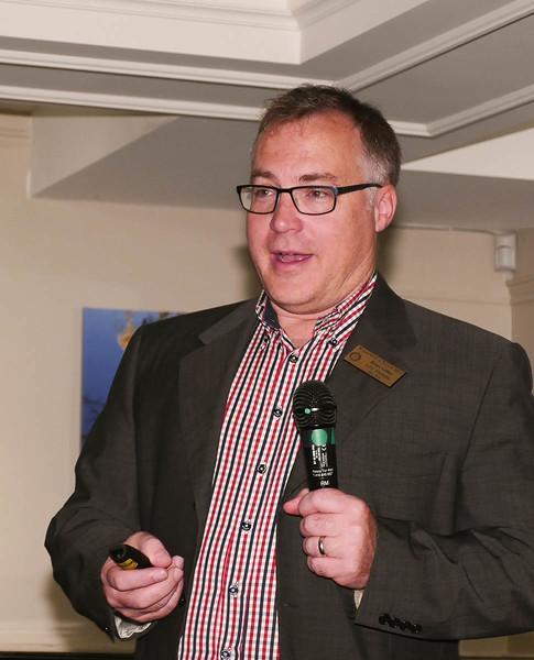 RYIA Chair Bruce Gillies
