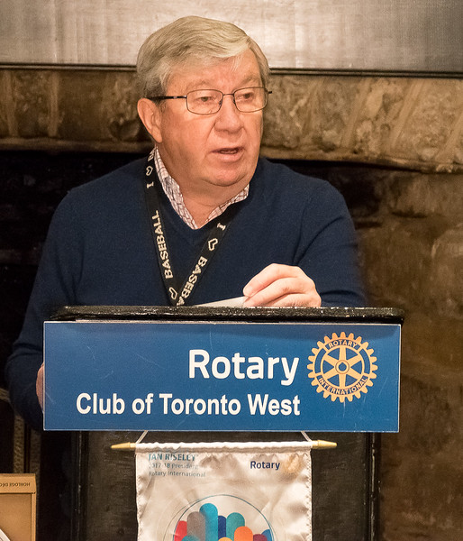 Welcome comments from RTW President Terry Donohue