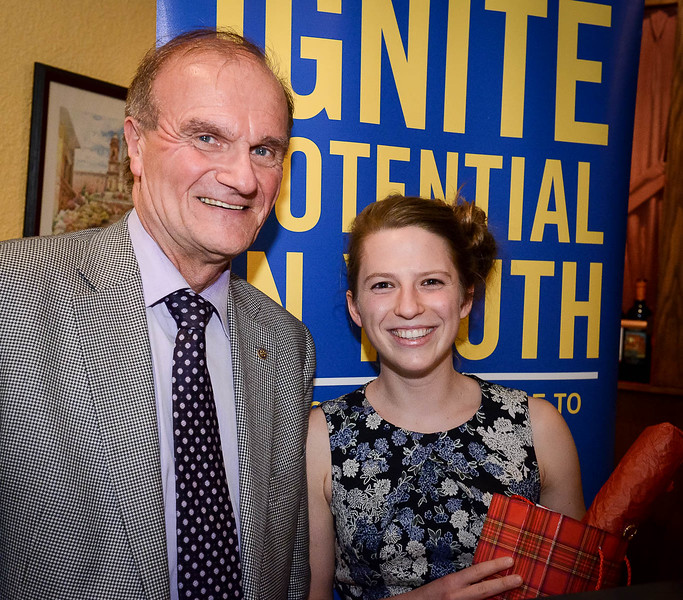 Krista Kruja, sponsored by the Rotary Club of Toronto West, has been honoured to receive a Rotary Global Grant Scholarship.