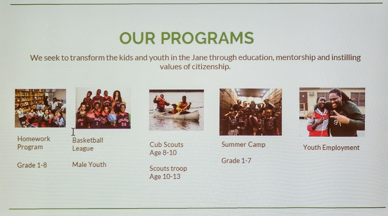This slide gives a good overview of activities...