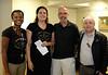 Dami, Jennifer, RTW Community Chair John Muto, and Stephen T