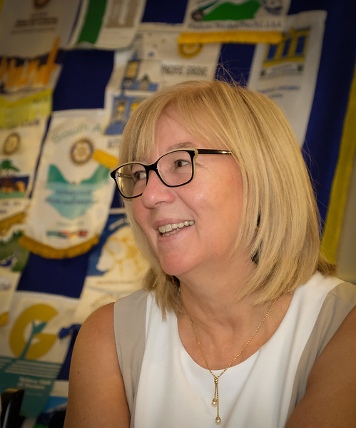 """Michele Guy was Co-Chair of our Toronto 2018 Host Organizing Committee (HOC) for our International convention held  in Toronto in June 2018. With 25,188 attendees , it was ranked as the largest in Rotary history, save for two larger ones that were significant """"Anniversary""""  years.  Michele added that attendees  brought with them another 5,000 non Rotarian family members and guests that came along to enjoy Toronto and its sights."""