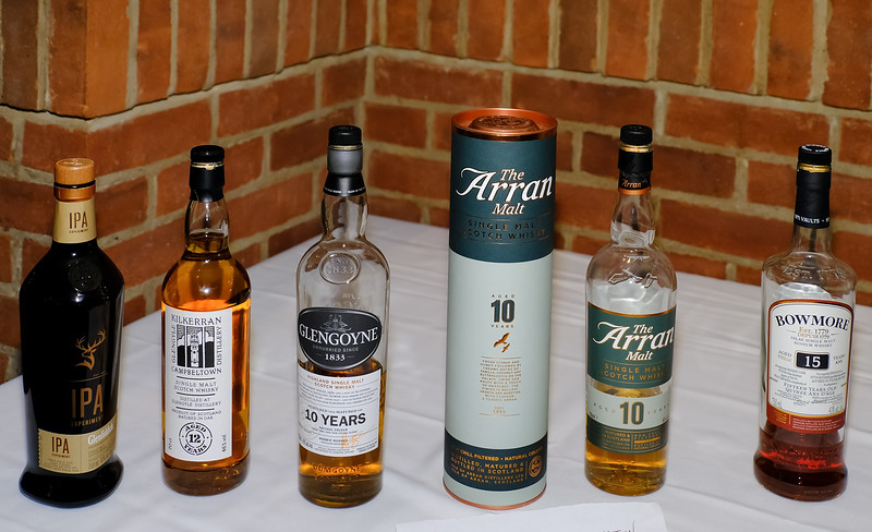 Leftovers from our Scotch Nosing fetched a few hundred $$ from enthusiastic bidders.