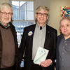 RTW member Paul C with Hugh and Stephen Thiele - RTW Club President 2018-19