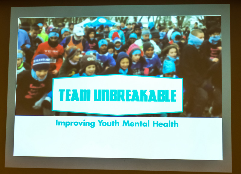 """""""UNBREAKABLE is how we want kids and youth to feel.  Our goal is for young people to be strong and resilient. We want to give them the tools and resources that instill in them the confidence to overcome the challenges they face. It's what our Team Unbreakable Run Program in schools, communities, and healthcare settings is delivering."""""""
