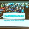 """UNBREAKABLE is how we want kids and youth to feel.  Our goal is for young people to be strong and resilient. We want to give them the tools and resources that instill in them the confidence to overcome the challenges they face. It's what our Team Unbreakable Run Program in schools, communities, and healthcare settings is delivering."""