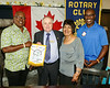 We received a club flag from RC Kampala Muyenga, and will be sending ours to them by mail.
