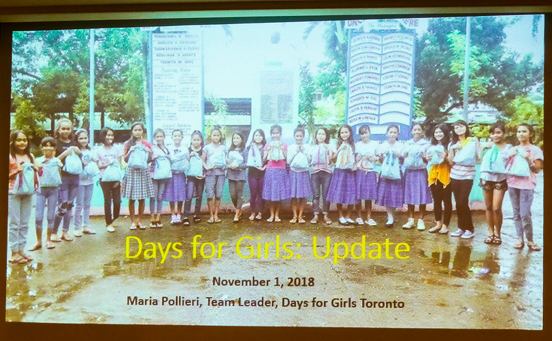 Days for Girls promotes community development and women's health through the provision of feminine hygiene kits.  Using the kits reduces menstruation-related absenteeism among school-aged girls.
