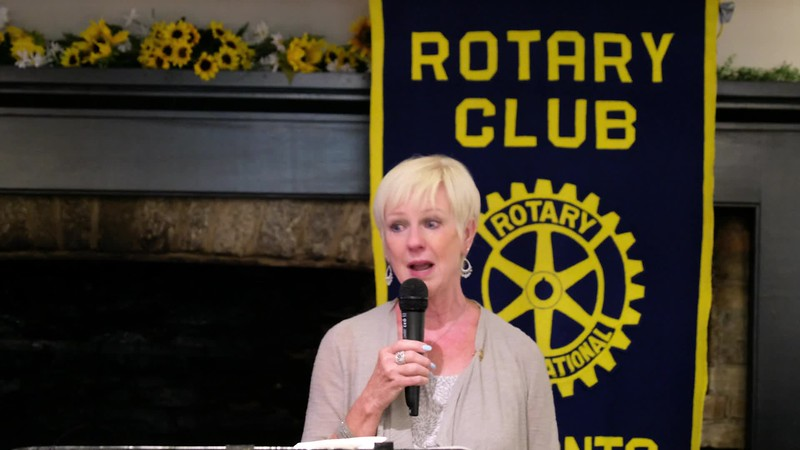 VIDEO: Janet thanked our club for the honour being paid to her parents. It was a heartfelt emotional moment for everyone.